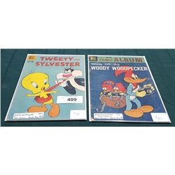 VINTAGE WOODY WOODPECKER $0.10 & TWEETY AND SYLVESTER $0.10 COMICS