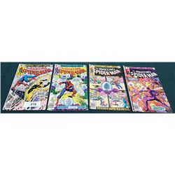 4 VINTAGE COLLECTIBLE THE AMAZING SPIDERMAN $0.40 COMICS