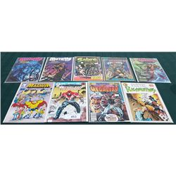 9 VINTAGE COLLECTIBLE COMICS