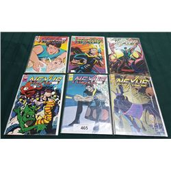 6 VINTAGE COLLECTIBLE NEXUS $1.95 COMICS