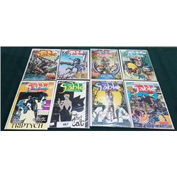 8 VINTAGE COLLECTIBLE JON SABLE $1.00 COMICS