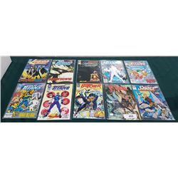 10 VINTAGE COLLECTIBLE $1.50 & $1.75 COMICS
