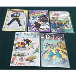 5 VINTAGE COLLECTIBLE $1.25 COMICS