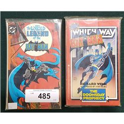 2 VINTAGE BATMAN $2.75 & 3.50 POCKET COMICS