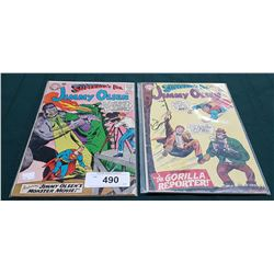 2 VINTAGE COLLECTIBLE JIMMY OLSEN $0.12 COMICS