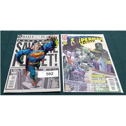 2 VINTAGE SUPERMAN $1.99 & $3.95 COMICS