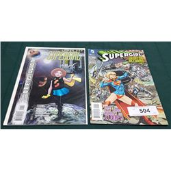 2 VINTAGE COLLECTIBLE SUPERGIRL $1.99 & $2.99 COMICS
