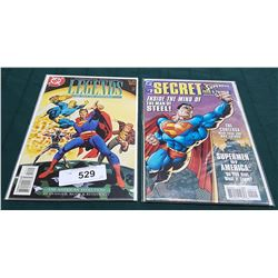 VINTAGE LEGENDS OF THE DC UNIVERSE $3.95 & SUPERMAN SECRET FILE & ORIGINS $4.95 COMICS