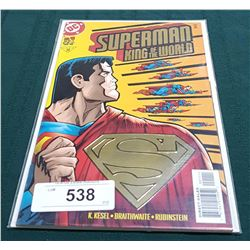 VINTAGE SUPERMAN KING OF THE WORLD NO.1 $4.95 COMIC