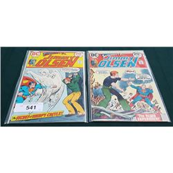 2 VINTAGE COLLECTIBLE JIMMY OLSEN $0.20 COMICS