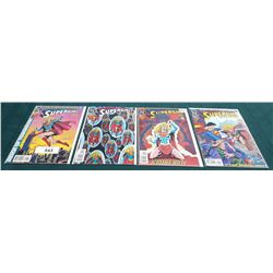 4 VINTAGE COLLECTIBLE SUPERGIRL $1.50 COMICS