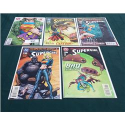 5 VINTAGE COLLECTIBLE SUPERGIRL $1.95 COMICS