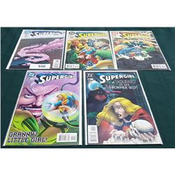 5 VINTAGE COLLECTIBLE SUPERGIRL $1.95 & $1.99 COMICS