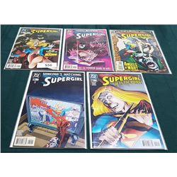 5 VINTAGE COLLECTIBLE SUPERGIRL $1.99 COMICS