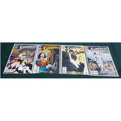 4 VINTAGE COLLECTIBLE SUPERGIRL $1.99 COMICS