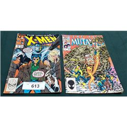 VINTAGE X-MEN $1.00 & THE NEW MUTANTS $0.75 COMICS