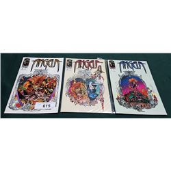 3 VINTAGE ANGELA NO.1-3 $2.25 COMICS