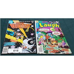 VINTAGE STAR HUNTERS $0.35 & LAUGH $0.35 COMICS
