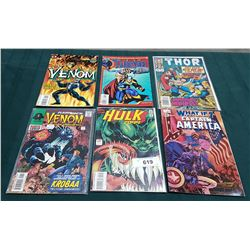 6 VINTAGE COLLECTIBLE COMICS