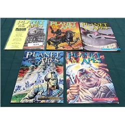 5 VINTAGE PLANET OF THE APES NO. 1-5 $2.50 COMICS
