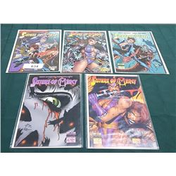 5 VINTAGE SISTERS OF MERCY NO. 1-5 $2.50 COMICS