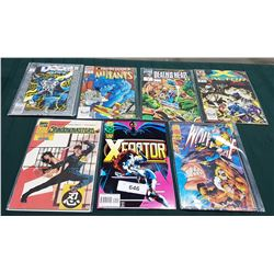 7 VINTAGE COLLECTIBLE COMICS