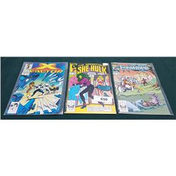 3 VINTAGE COLLECTIBLE COMICS