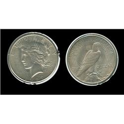 1927s Peace Dollar. MS-61. Key 865,000. Trends $200