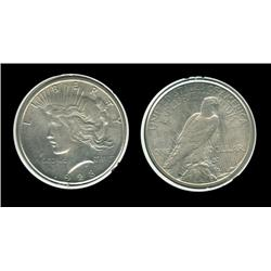 1928s Peace Dollar. MS-63. Key. High grade. Trends $575