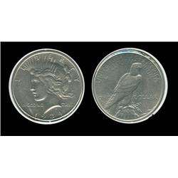 1934 Peace Dollar. MS-63. Key. 954,000. Trends $230