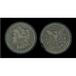 1895o Morgan Dollar in airtite. VG. Key. 450,000