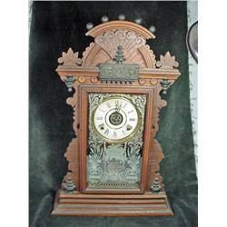 "EASTLAKE KITCHEN CLOCK WITH TIME 25""."
