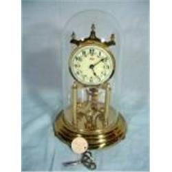 "KUNDO ANNIVERSARY CLOCK WITH KEY, 12""."