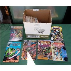 BOX OF COLLECTIBLE COMICS