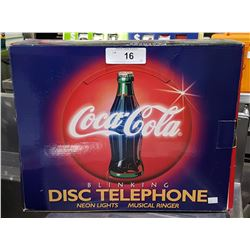 NIB COCA-COLA DISC TELEPHONE