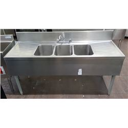 PROFESSIONAL STAINLESS STEEL BAR SINK