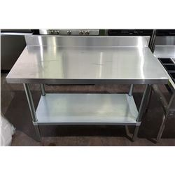PROFESSIONAL STAINLESS STEEL PREP TABLE