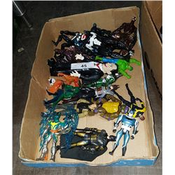 TRAY LOT COLLECTIBLE ACTION FIGURES