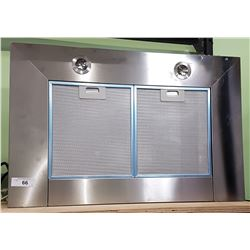 PROFESSIONAL STAINLESS STEEL HOOD FAN FROM TV SET