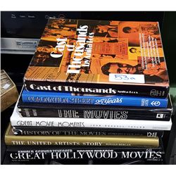 8 HARD COVER MOVIE COFFEE TABLE BOOKS
