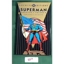 SUPERMAN ARCHIVES VOL. 6 HARD COVER COMIC BOOK