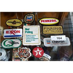 10 VINTAGE OIL AND GAS PATCHES