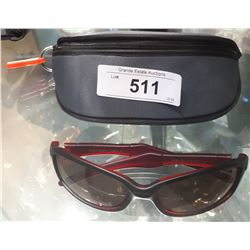 NEW RYDER GULLY SUNGLASSES W/CASE