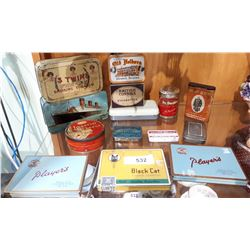 14 VINTAGE COLLECTIBLE TINS