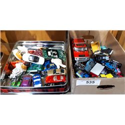 2 BOX LOTS COLLECTIBLE DIE CAST CARS