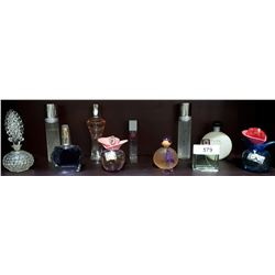 11 COLLECTIBLE PERFUME BOTTLES