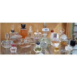20 COLLECTIBLE PERFUME BOTTLES