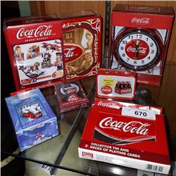 6 NIB COCA-COLA COLLECTIBLES
