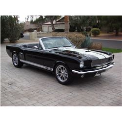 2:30PM SATURDAY FEATURE 1965 FORD MUSTANG GT 350R RESTO MOD