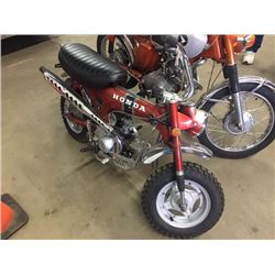 NO RESERVE 1971 HONDA TRAIL 70 ONLY 2831 ACTUAL MILES